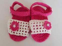 Baby gestrickte Schuhe - 1