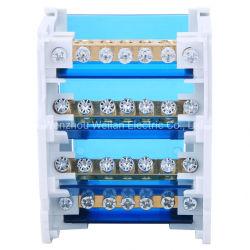 도매 단자 블록 중립 박스 과전류 125A 구리 와이어 단자 레일 션트 터미널 블록