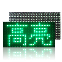 La couleur verte P10-1G Module d'affichage à LED de plein air
