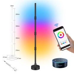 التحكم عن بعد في التطبيقات الحديثة التحكم في الألوان الرأسية تغيير الألوان متعددة الألوان RGB Light مصباح الوقوف في الزاوية الجانبية مصباح التحكم في الموسيقى مصباح الوقوف