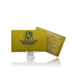 بطاقة تعريف بلاستيكية بدون أطراف تلامس بطاقة تعريف ذكية من نوع RFID تصميم مخصص PVC البطاقة