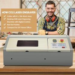 Novo modelo de trabalho CNC gravura a laser corte a laser de CO2 Laser portátil máquinas de gravação