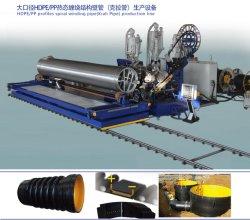 Le PEHD/PP machine à tuyaux d'enroulement des profils