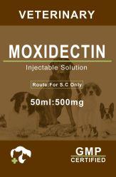 Для медицины Mosidectin Mosidectin животных инъекций Aolution ветеринарных 500 мг/50мл