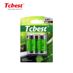 Pilhas NiMH de 1,2v Tamanho C 3800mAh 4500mAh 5000mAh bateria recarregável Ni-MH baterias recarregáveis com marcação CE/MSDS