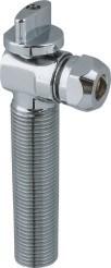 Qualitäts-Wasser-Service-Chrom überzogenes Messingeckventil-Messingventil Hm-0080