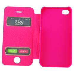 휴대폰 Flip Leather Case for iPhone 4G/4입니다