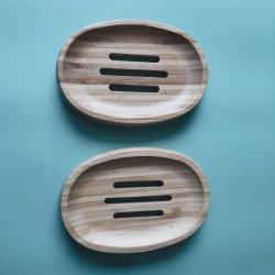 Piatto di sapone di bambù amichevole di Eco