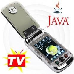 A2000 TV Double Carte SIM déverrouillée Java Mobile Cell Phone