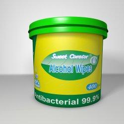 250HP500HP800HP1000HP2000HP 3000PCS Recipiente Balde de limpeza do lado da linha de produção de álcool toalhetes antibacterianos Manufacturerhand House Balde de limpeza