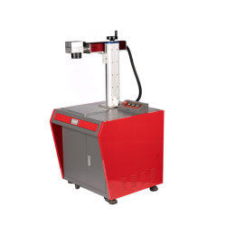 Macchina per marcatura a colori laser in fibra di ottone da 20 W per metallo