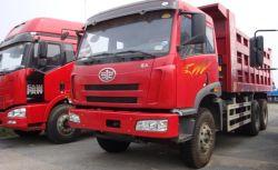 Faw J5P 6X4 310HP 17m3 Faw Camion-benne
