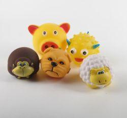 Migliori giocattoli di masticazione del vinile per i cuccioli del gatto dell'animale domestico del cane