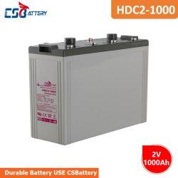 Csbattery 2V1200ah 무정비 - 재추천 - 효율/VFD - 시스템/고정/재생 가능 배터리용 충전식 AGM 배터리