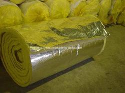 Isolamento de lã de vidro com folha de alumínio