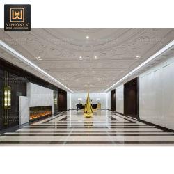 Kreative Dekoration-Edelstahl-Skulptur für Hotel-Vorhalle