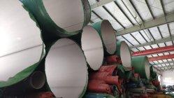 산업 용접된 스테인리스 관 또는 관 큰 크기 두꺼운 간격