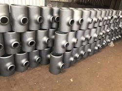 Carbon Steel ASME B16.9 Pipe Fitting Stainless Steel의 위생적인 광택 엘보우 벤드, 리듀서 파이프 피팅 티