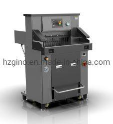 670mm hydraulische Programmsteuerguillotinepapiertrimmer-Scherblockmaschine