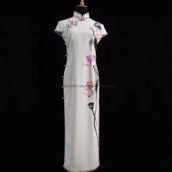 Senhora vestido bordado Madehand Personalizado Senhora Vestido de festa vestido de Luxo