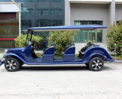 La vendimia y coches clásicos de la moda a principios de los automóviles