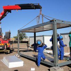 Recipiente flexível inteligente House/Prefab House/Prédio prefabricados com estrutura de aço