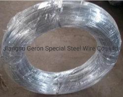 Diametro 0.205 ~ 1.215 mm filo zincato con panno per ago Superficie