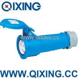 قارنة التوصيل الصناعية ذات مقبس الطاقة الأزرق بطول 3 p IEC 60309 16A (QX510)