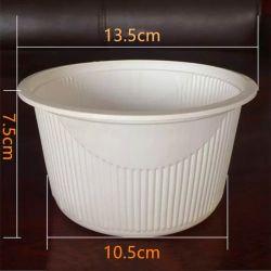 700 мл кукурузного крахмала биоразлагаемых посуда одноразовая посуда кафе Packagin трапеза в салоне отеля ресторан быстрого питания в салоне