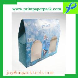 Пользовательское поле бумаги мультфильмов игрушка подарочная упаковка модель автомобиля в салоне