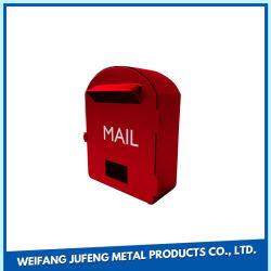 La precisión de OEM de estampación de chapa metálica de la casilla de correo