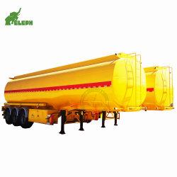 3 Axl 60m3 오일 가솔린 디젤 화학 액체 연료 탱크 트레일러