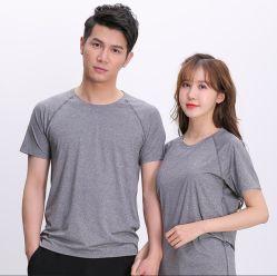 Der Großhandelsmänner feste T Stück-Hemden der Kleidungs-Gymnastik-Sport-Abnützung-