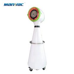D'éclairage LED commerciale de l'embuage de pulvérisation centrifuge de rotation du ventilateur du refroidisseur d'air