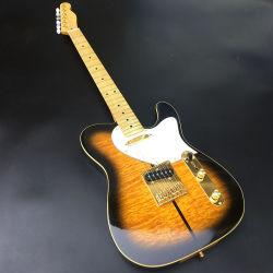 Tl personalizados de alta qualidade guitarra eléctrica Merl Assinatura Haggard Tuff Dog Guitarra, acessórios de Ouro