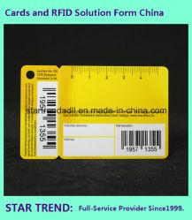 Carte Combo non standard avec un poinçon de code à barres pour le matériel de magasin