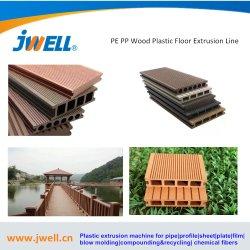 Le plastique PVC/PE/PP WPC (bois) Pontage de la fenêtre Profil/PLAFOND/ Conseil/Porte Panneau mural/Edge/Feuille de baguage extrusion extrusion de la ligne de production de la machine