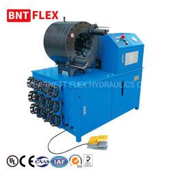 4 pulgadas de la herramienta de cambio rápido de la manguera hidráulica automática máquina engastado