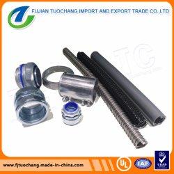 Enduit de PVC G. I. gaine métallique flexible