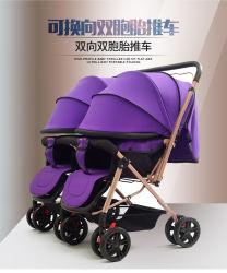 Meilleure vente chaude Jumeaux de Luxe de mom bébé Pram populaires poussette de bébé