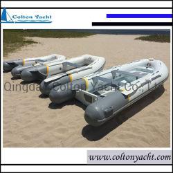 O alumínio Barcos de pesca e barcos de costela com tubo Pontão