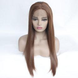 Piccola parrucca sintetica dei capelli della parrucca della parte anteriore del merletto della principessa Ariel Long Cosplay Wig della sirena