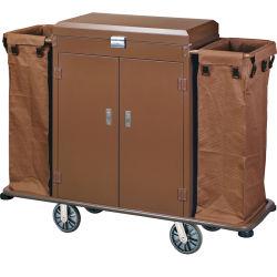 최신 판매 서비스 트롤리 청소 손수레 호텔 공급 (HS-13)