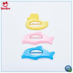Termometro per bagno per neonati con design a base di cartoni per animali galleggiante impermeabile