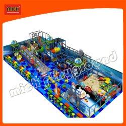 Suave interior infantil juguetes de plástico con rodillo nuevo producto tobogán para niño