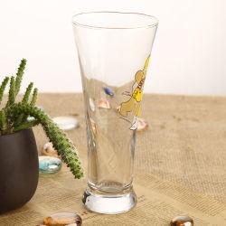 280 ml Pas tarwebier/sap aan Drink Glassware met Cartoon Decal Afgedrukt