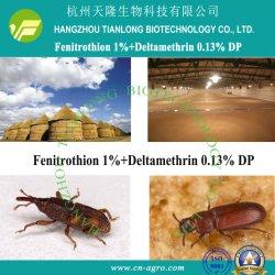 1 % de fénitrothion+Deltaméthrine 0,13% DP-fénitrothion+deltaméthrine (1%+0.13%)-insecticide mélange