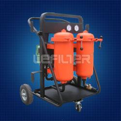Lycée-B Turbine de filtration de l'huile hydraulique vide purificateur d'huile, filtre à huile Panier chariot