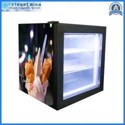 Mini Affichage de comptoir boissons Réfrigérateur à congélateur de crème glacée
