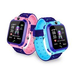 Crianças Smartwatch Kid Rastreador GPS Assista a chamada Sos Locus de fitness para meninas de Controle dos Pais pelo iPhone e smartphones Android Crianças